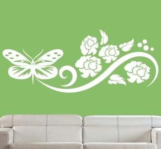 Como decorar paredes con mariposas ideas consejos - Imagenes para decorar paredes ...
