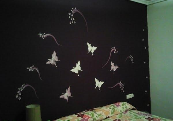 Como decorar paredes con mariposas ideas consejos for Ideas para decorar la pared de mi cuarto